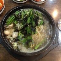 Photo taken at 전주 콩나물국밥 by Jong Suu L. on 7/3/2014