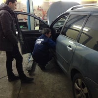 Photo taken at Сити Франс Сервис (Peugeot Citroen Service) by Анна Д. on 11/30/2013