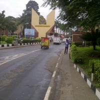 Photo taken at University Of Lagos by Yemi-Joshua O. on 9/13/2013