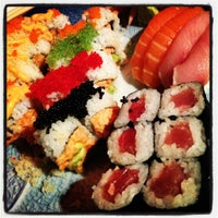 Photo taken at Sushi Park by Rose d. on 11/11/2012