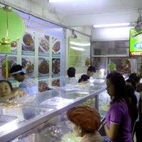 Photo taken at ร้านสุขภาพ อาหารเจ by Prasert T. on 10/17/2012