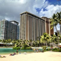 Photo taken at Hilton Hawaiian Village Waikiki Beach Resort by Eriq C. on 4/7/2013