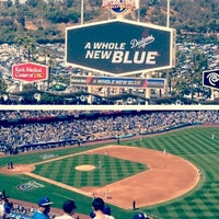 Photo taken at Dodger Stadium by Eriq C. on 4/1/2013