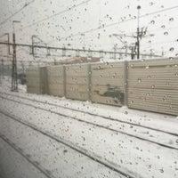 Photo taken at Alingsås Station by Israel S. on 1/23/2016
