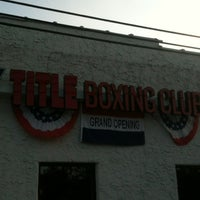 Photo taken at Title Boxing Club Huntington by Dominick L. on 10/17/2013