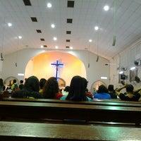 Photo taken at Assumption Church by Ensel P. on 4/21/2013