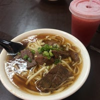 Photo taken at 港園牛肉麵 by Ricco on 10/19/2017