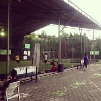 Photo taken at Savannah Futsal by Aldi Novian S. on 2/23/2013