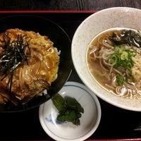 Photo taken at うどん処 与力 by tenta on 11/1/2013