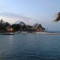 Photo taken at Umang Island Resort by Silmi F. on 11/2/2013
