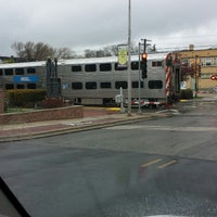 Photo taken at Metra - Westmont by Dave F. on 5/1/2014