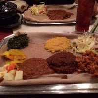 Photo taken at Meaza Restaurant & Market by Donna Mc on 3/12/2014