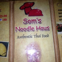 Photo taken at Som's Noodle House by Aris P. on 3/18/2013