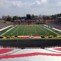 Photo taken at Capital One Field at Maryland Stadium by Tom H. on 8/27/2013