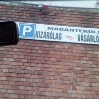 Photo taken at Pesterzsébet városközpont – szökőkút by M.Liza 🎬🐺🐈 on 5/7/2014