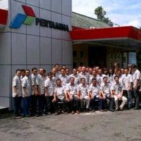 Photo taken at Pertamina Terminal BBM Malang by Efratasaesar R. on 4/27/2013