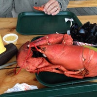 Photo taken at Muscongus Bay Lobsters by Thomas C. on 8/16/2014