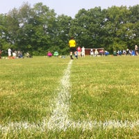Photo taken at Carmel Recreational Soccer Fields by Laura B. on 6/8/2013