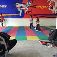 Photo taken at TAE KWON DO SEVEN DRAGONS by Carlos S. on 3/18/2015