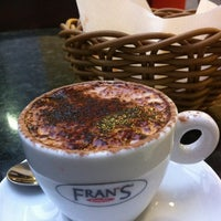 Photo taken at Fran's Café by Celso N. on 1/29/2013