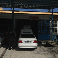 Photo taken at Özcan Oto Servis by Tarık👑 G. on 4/11/2014