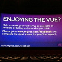 Photo taken at Vue Cinema by C J. on 6/20/2015