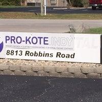 Photo taken at Pro-Kote Indy by Joseph D. on 10/18/2016