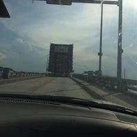 Photo taken at Silver Beach Bridge by Bonnie M. on 5/28/2014