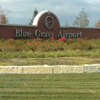 Photo taken at Blue Grass Airport (LEX) by Bonnie M. on 10/13/2012