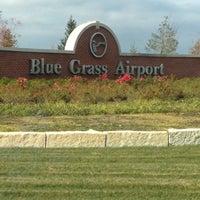 Photo taken at Blue Grass Airport (LEX) by Bonnie M. on 10/13/2012