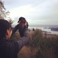 Photo taken at Cypress Mountain Lookout by A. Z. on 4/7/2013