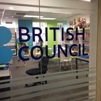 Photo taken at British Council by Ahlam Q. on 3/1/2014