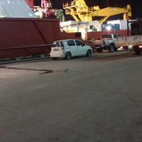 Photo taken at ASB Jetty # 9 by Ahmad I. on 8/4/2014