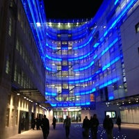 Photo taken at BBC Broadcasting House by Jamie M. on 11/28/2012