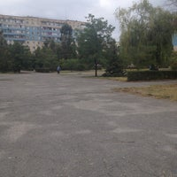 Photo taken at Сквер Жукова by Olesya C. on 8/28/2013