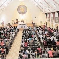 Photo taken at Gereja Katolik Katedral by Angelia A. on 8/18/2013