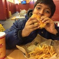 Photo taken at Jake's Wayback Burger by Alex S. on 1/29/2015
