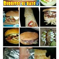 Photo taken at Burritos El Rayo by Jose H. on 10/2/2013