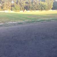 Photo taken at stadionul municipal Gherla by Gabriel B. on 7/29/2013