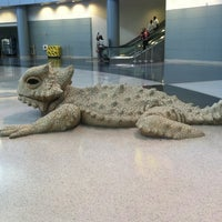 Photo taken at Bearded Dragon Sculpture by wendy q. on 4/3/2014