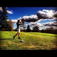 Photo taken at Mount Snow Golf Club by Stephanie H. on 10/1/2012