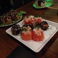 Photo taken at Naka Naka Sushi Bar by Felipe O. on 7/23/2013
