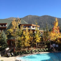 Photo taken at Grand Residences by Marriott, Lake Tahoe by Catherine P. on 10/17/2012