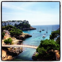 Photo taken at Cala Galdana by Kenneth A. on 9/4/2013