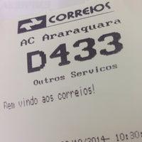 Photo taken at Correios by Gustavo C. on 10/30/2014