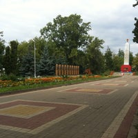 Photo taken at Парк Победы by Александр И. on 8/28/2013