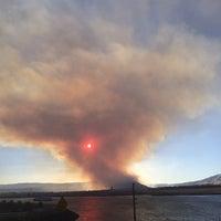 Photo taken at The Dalles Dam by Adam David B. on 8/7/2014