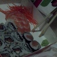 Photo taken at Sushi loko by Bianca M. on 8/28/2013