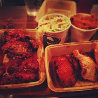 Photo taken at Mighty Quinn's BBQ by Bennett R. on 4/2/2013