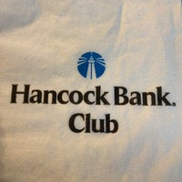 Photo taken at Hancock Bank Club by Moises R. on 5/7/2014